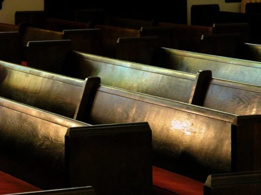 Kościół i biuro parafialne zamknięte